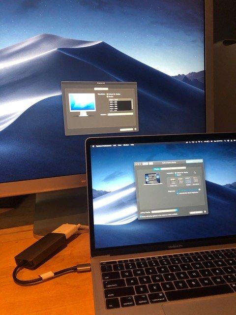 "Connecting 2017 MacBook Pro to 30"" Cinema Wide"