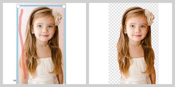 instant remove photo background